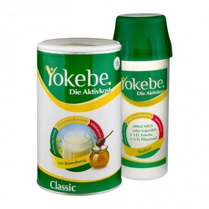 Yokebe Aktivkost Classic Starterpaket, Pulver