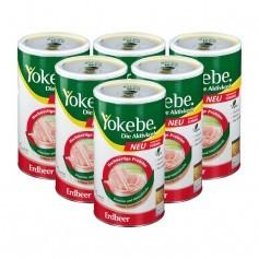 Yokebe Yokebe Aktivkost, Erdbeer, Pulver