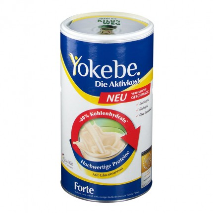 6 x Yokebe Forte Einzeldose, Pulver