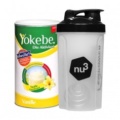 Yokebe Aktivkost Lactosefrei nu3-Starterpaket, Pulver