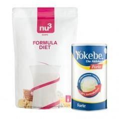 Yokebe Forte & nu3 Formula Diet, Pulver
