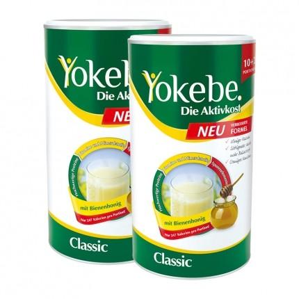 2 x Yokebe Aktivkost Classic, Pulver