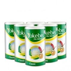 6 x Yokebe Aktivkost Classic, Pulver