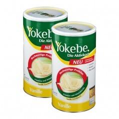 2 x Yokebe Aktivkost Laktosefrei, Pulver