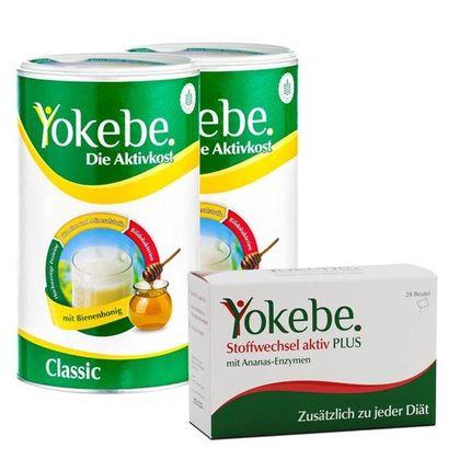 Yokebe Stoffwechsel-Aktiv-Paket preiswert bei nu3 bestellen