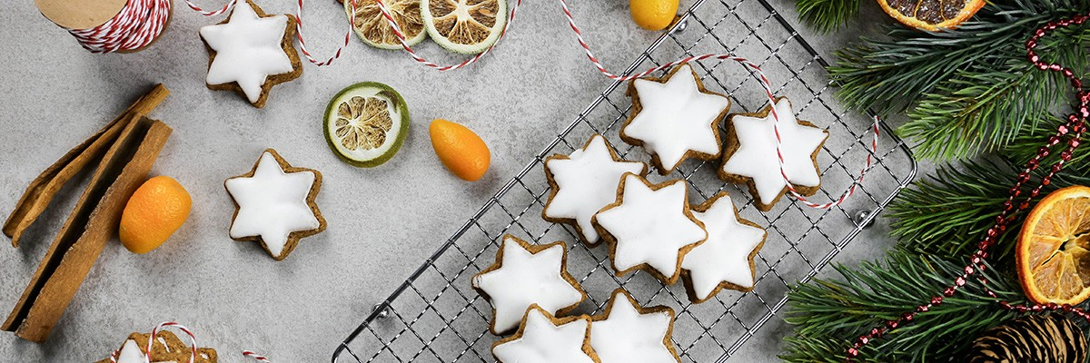 Chia Zimtsterne – Mit Superfood-Power durch die kalte Adventszeit