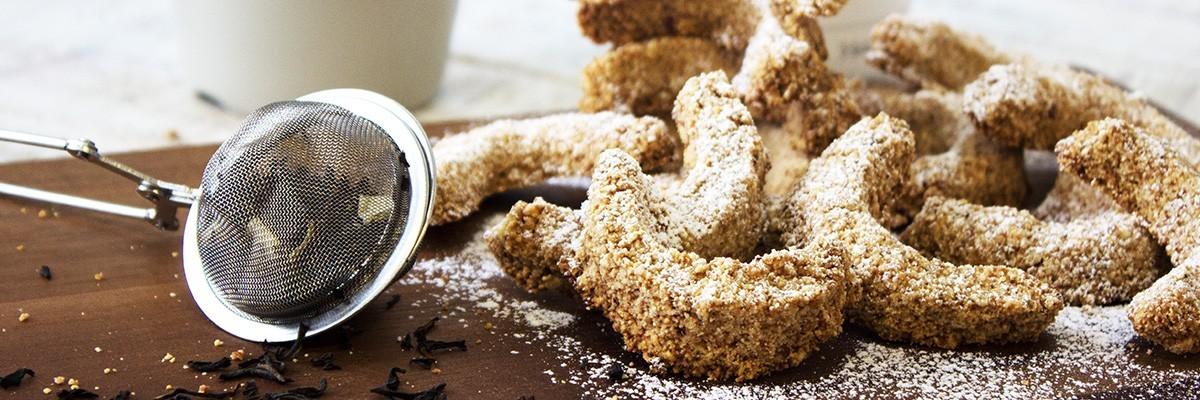 Vanillekipferl backen – einfach, vegan und Low Carb