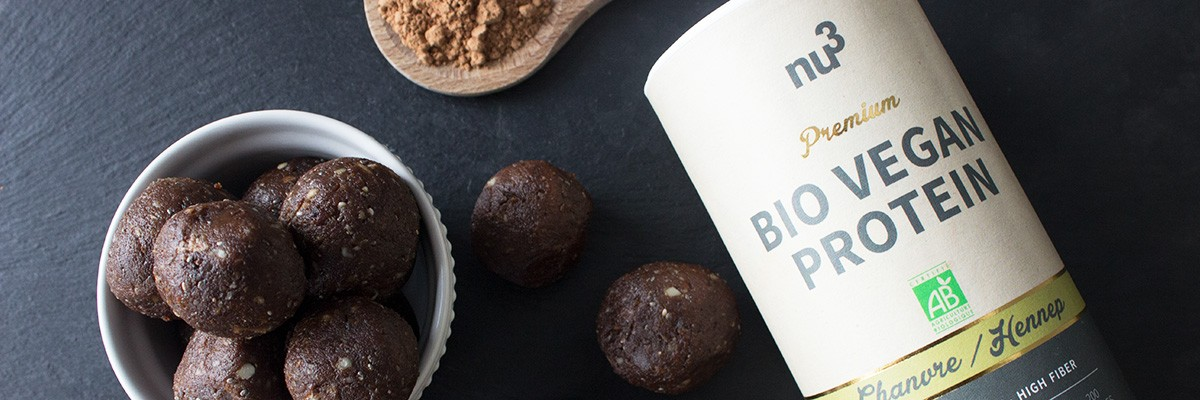 Energy balls dattes-cacao