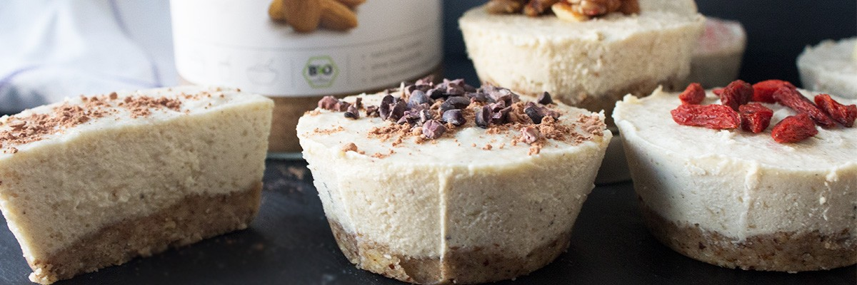 Mini cheesecake vegan