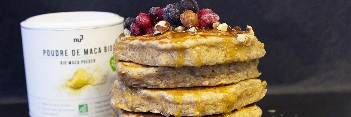 Pancakes de Noël à la cannelle