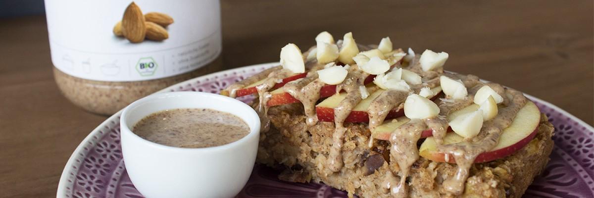 Porridge vegan au four