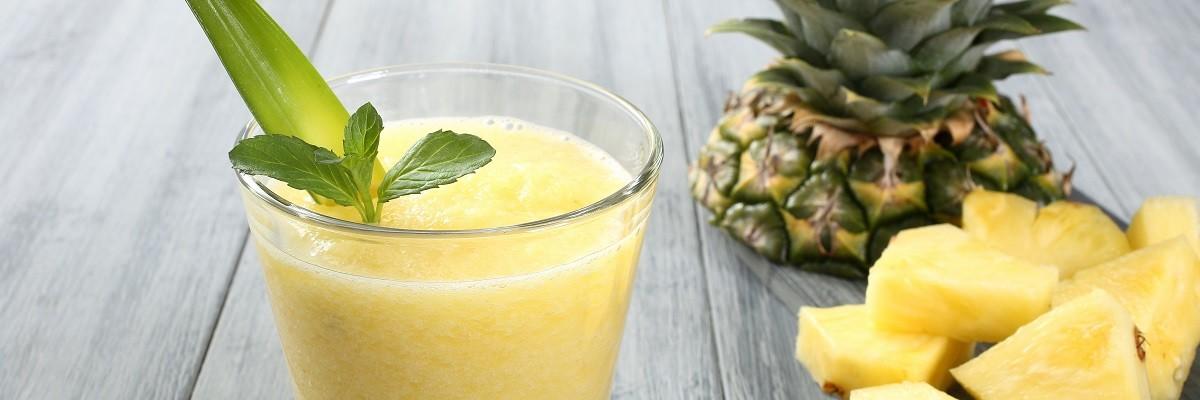 Almased-Rezept mit Ananas und Kokos