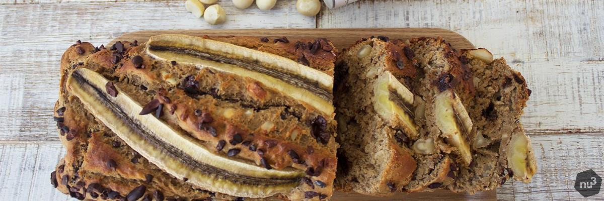 Banana bread sans sucre