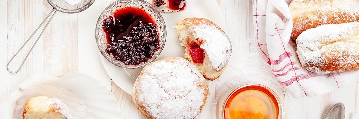 Berliner Pfannkuchen vegan und selbst gebacken!