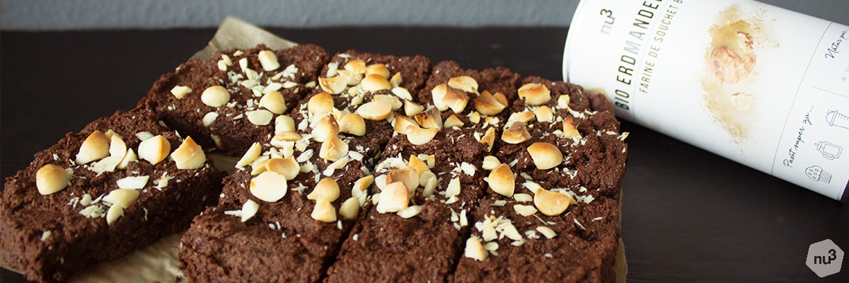 Brownie de patate douce