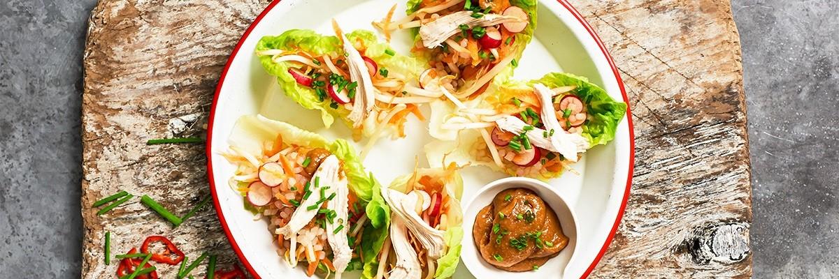 Crunchy Chicken Satay – Street Food für zu Hause