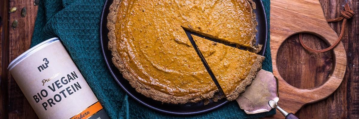 Saftiges Kurbiskuchen Rezept Vegan Und Einfach Nu3kitchen