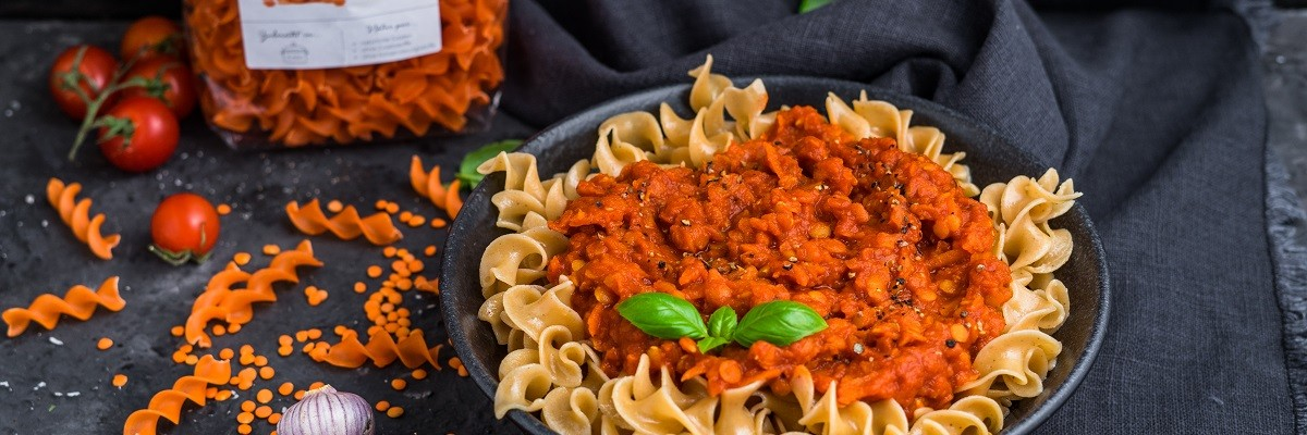 Linsenbolognese vegan und einfach köstlich