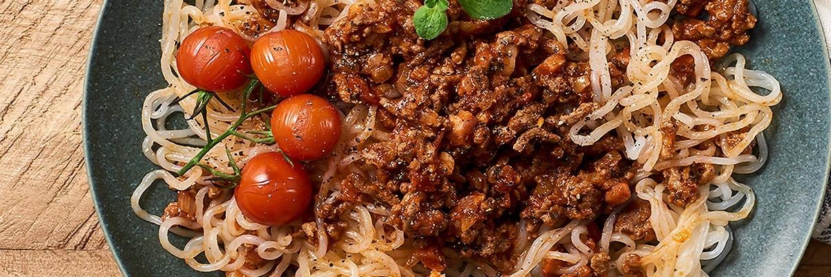 Recette de spaghettis bolognaise low carb