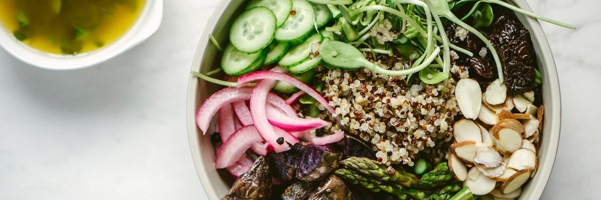 Love at first Bite: Purple Quinoa Bowl