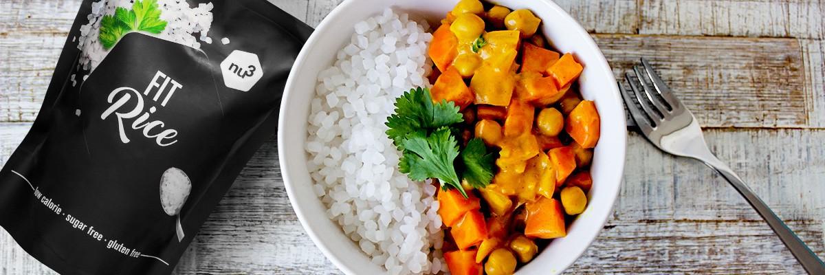 Curry végétarien au curcuma - IG bas