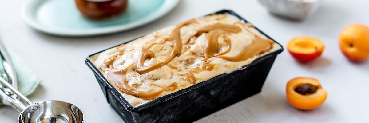 Nice cream vegan : beurre de cacahuète et yacon-lucuma
