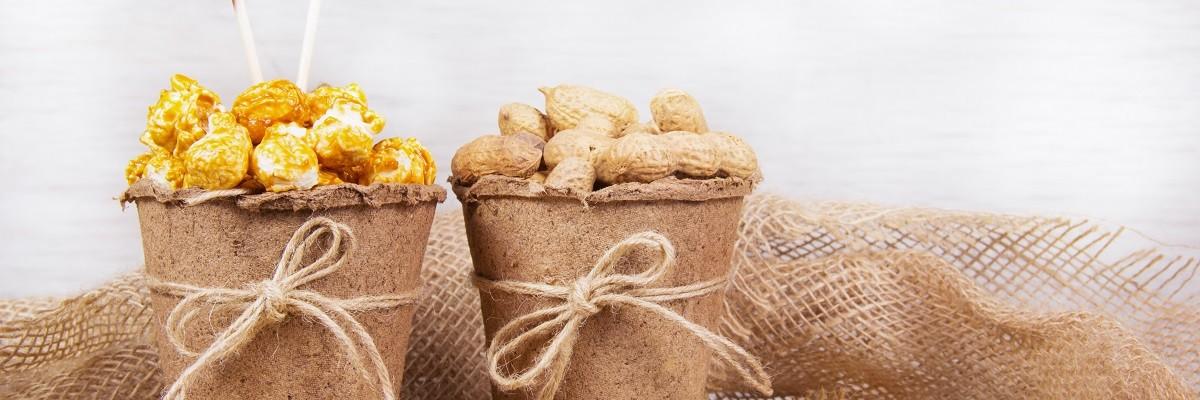 Peanut Butter Popcorn süss-salzig