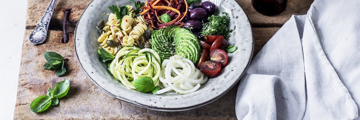 Chick Pea Spirelli Salat