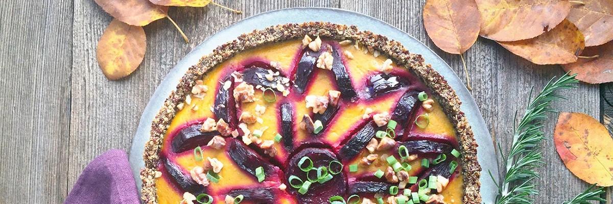Superfood Expertin Susanna Bingemer: Proteinbombe Quinoa als Quiche