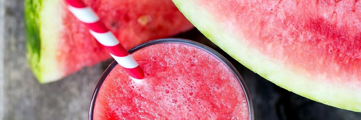 Wassermelonen-Smoothie mit Kokoswasser