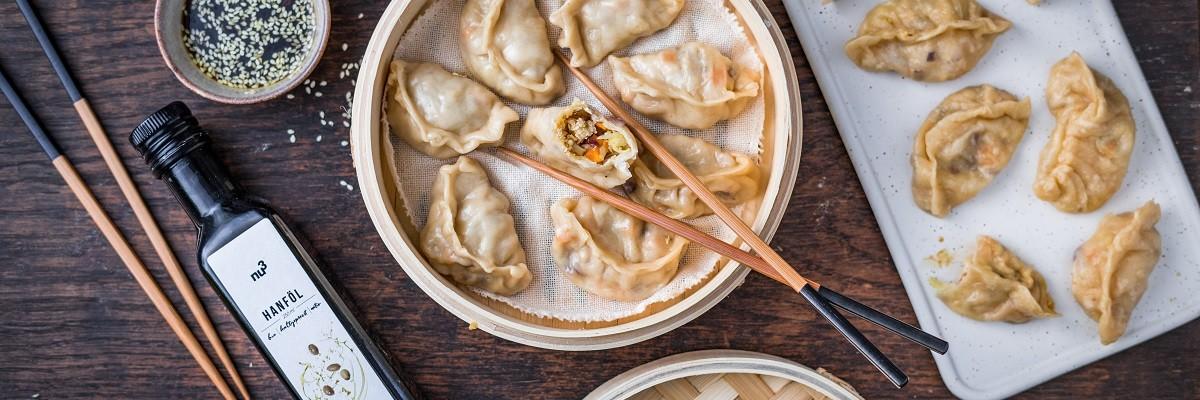 Mandus : raviolis coréens vegan