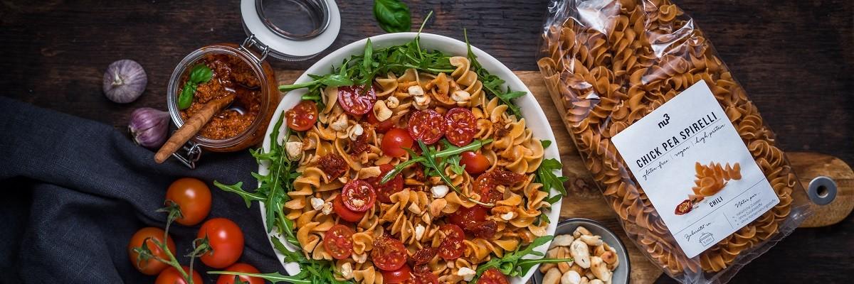 Salade de pâte méditerranéenne