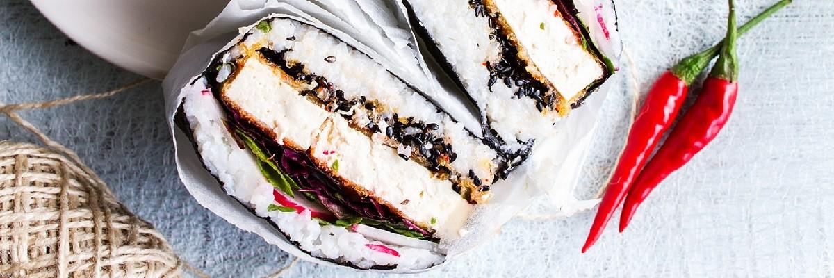 Onigirazu: Das japanische Sushi Sandwich