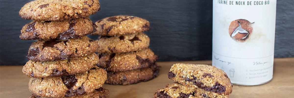 Cookies low carb & senza glutine