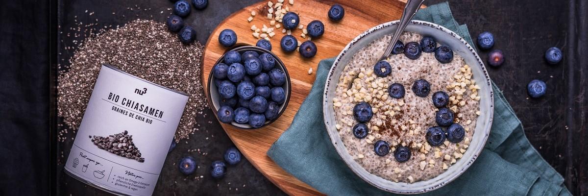 Chia pudding - vegano & ricco di proteine
