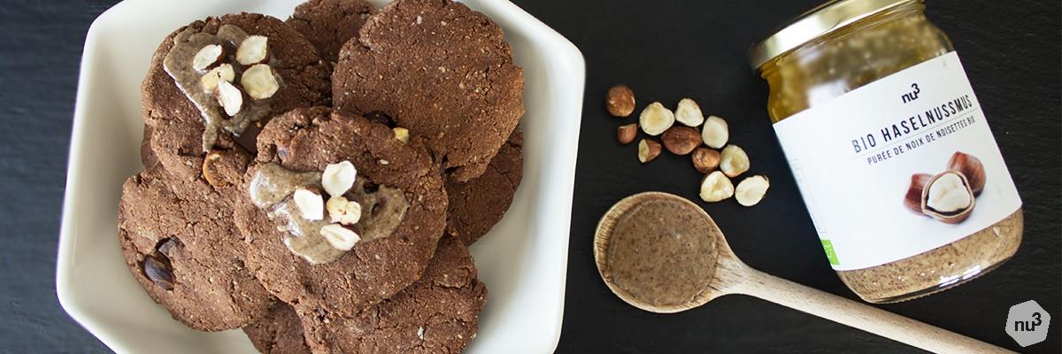 Cookies choco-noisettes sans sucre