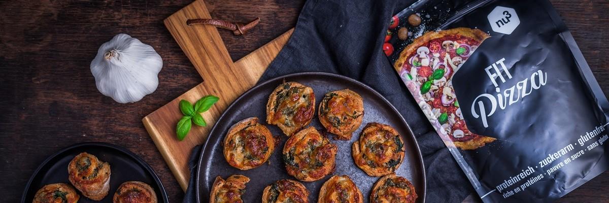 Pizzette con gli spinaci