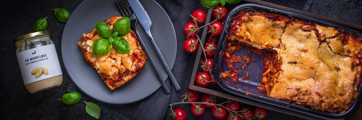 Gemüselasagne - Rezept für vegane Lasagne