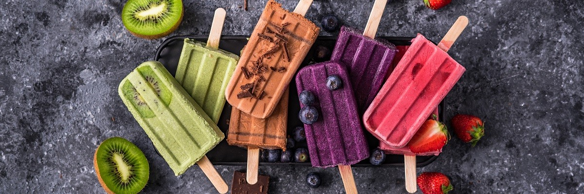 Vegan Popsicle – Kokosmus trifft Superfoods
