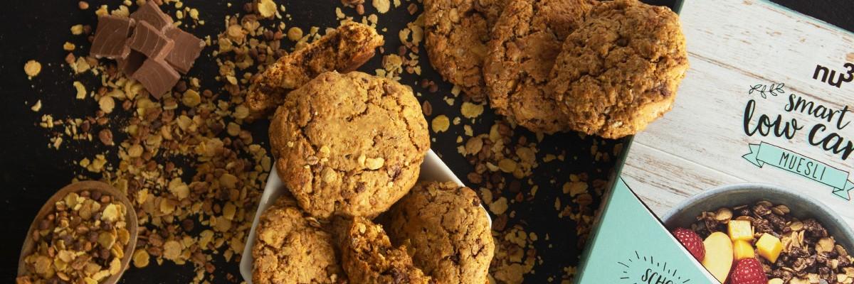 Cookies vegan au muesli