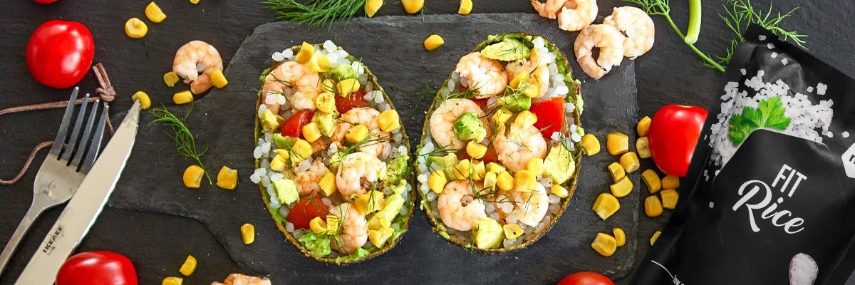 Salade de riz de konjac