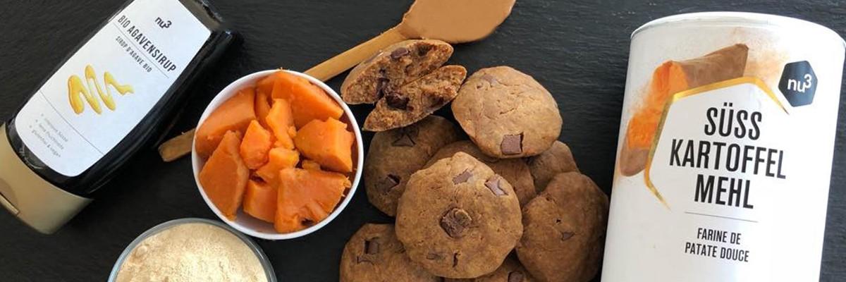 Biscotti di patate dolci
