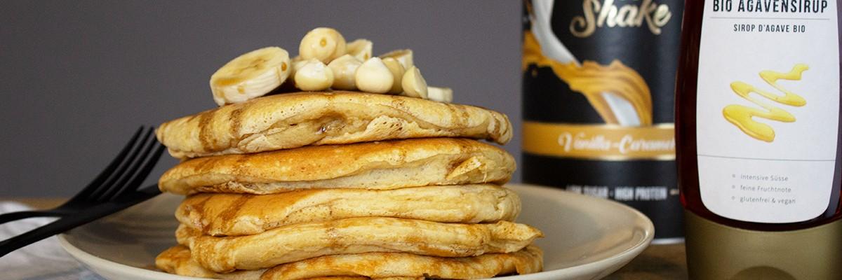 Fit Pancakes vanille-caramel