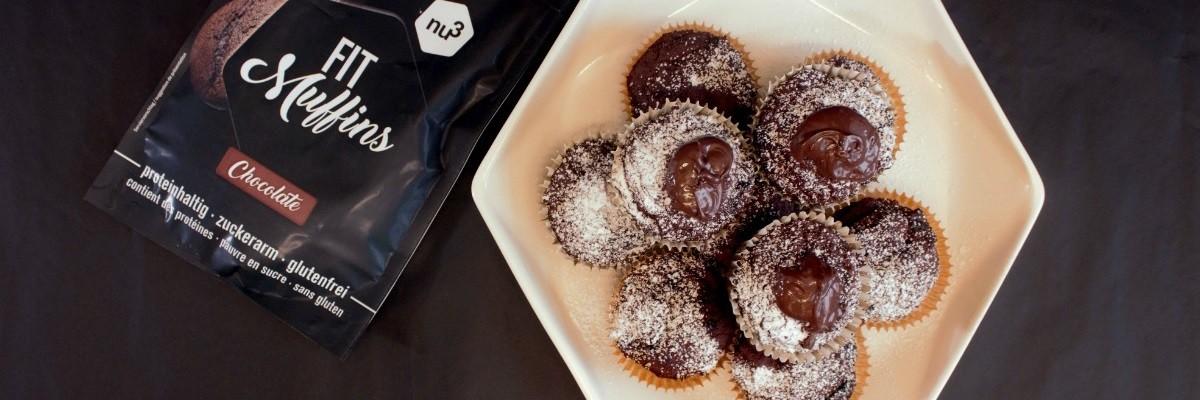Fit muffin con bacche di goji