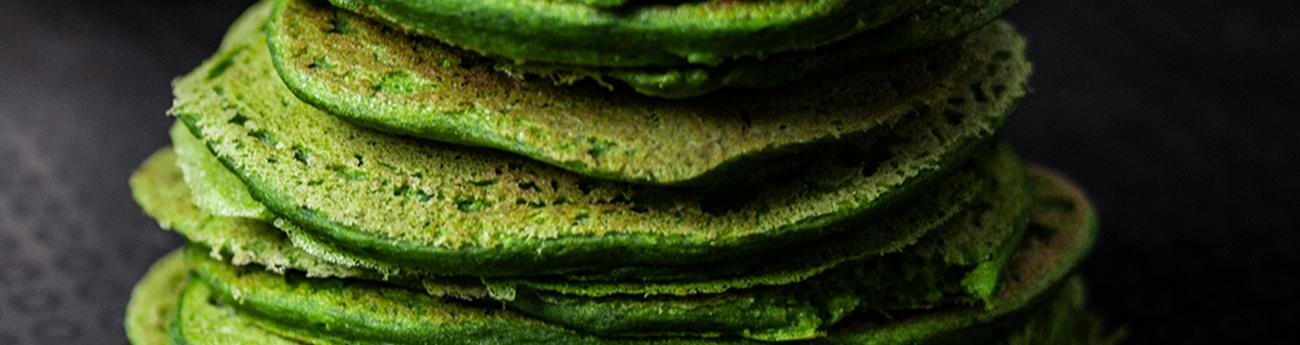 Pancake agli spinaci