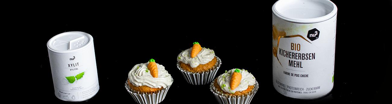 Carrot cupcakes vegan