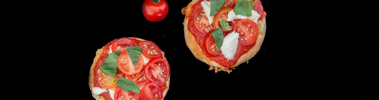 Mini pizza margherita