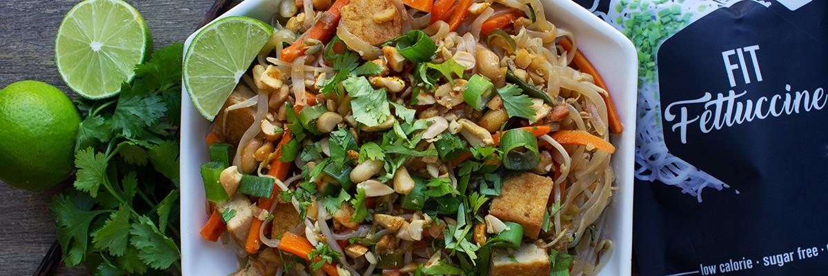 Pad thaï low carb vegan