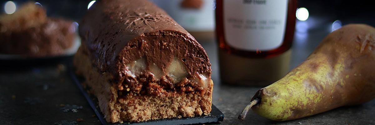 Mousse au Chocolat-Kuchen
