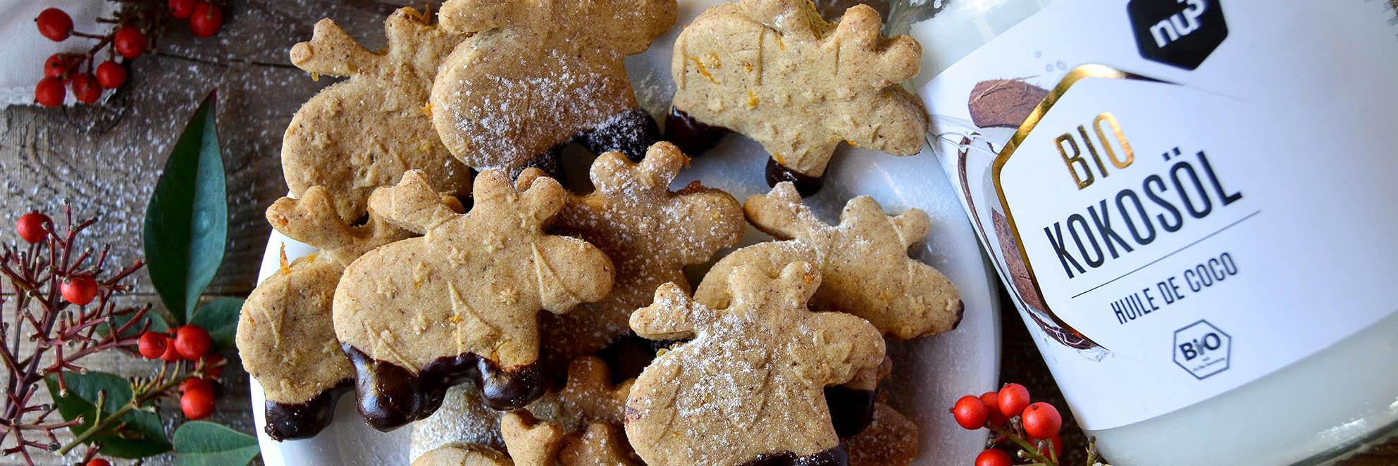 Biscuits de noël sans sucre
